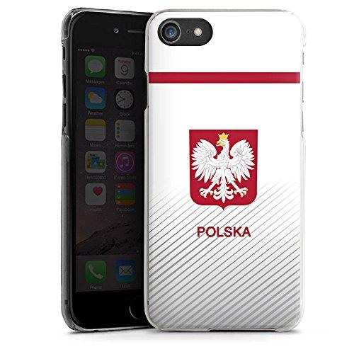 Apple iPhone X Silikon Hülle Case Schutzhülle Polen EM Trikot Fußball Europameisterschaft Hard Case transparent