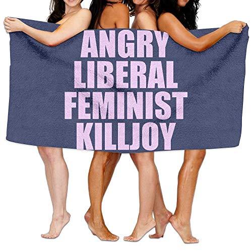 Toalla Unisex Angry Liberal Feminist Killjoy