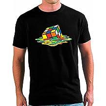 Camiseta Big Bang Theory Cubo de Rubik Fundido -custom- Unisex (Talla: TALLA-L)