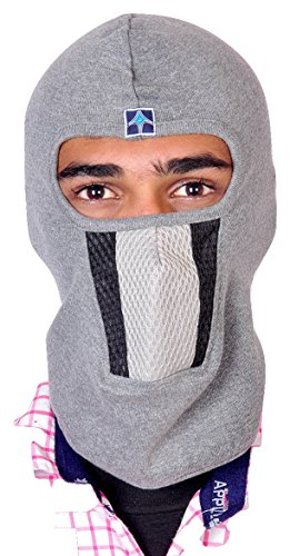 Dhoom Etijaarath Black Liner Full Face Mask For Bike Riders Head Gear, Under Helmet (Grey_Free Size)  available at amazon for Rs.210