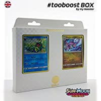 ESAM Box #tooboost POLITOED and GOODRA - SM02 - 10 English Pokemon Trading Cards