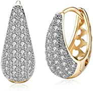 YouBella Crystal Gold Plated Jewellery stylish Style 2 Gold Earrings for Girl's and Wom