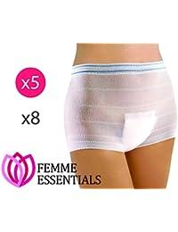 Krankenhaus Slip - Wochenbett Panties - Hospital Panties - waschbare Wöchnerinnen Damen Slips für Schwangerschaft & nach der Geburt (5)