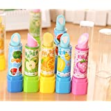 Infinxt Lipstick Shape Eraser For Kids And Gift Set of 6