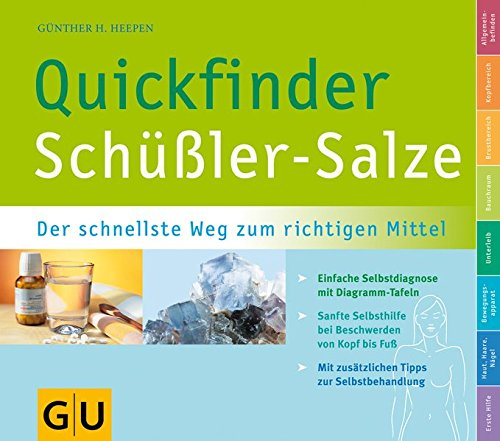 Schüßler-Salze, Quickfinder (GU Quickfinder Körper, Geist & Seele)