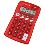 Olympia LCD 825 Calculator red