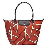 Longchamp Le Pliage Neo Geo Shopper Tasche Sienna Größe Large Limited Edition
