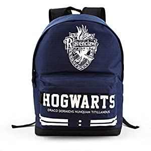 51EptTkcBCL. SS300  - Karactermania - Harry Potter Ravenclaw Mochila Tipo Casual, 43 cm, 27 litros, Azul