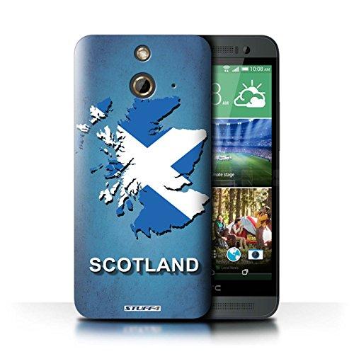 Coque de Stuff4 / Coque pour HTC One/1 E8 / Ecosse/écossaise Design / Drapeau Pays Collection Ecosse/écossaise