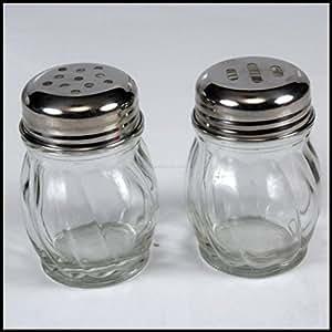 Plastic Material Chilli Flakes/Oregano Dispenser Set