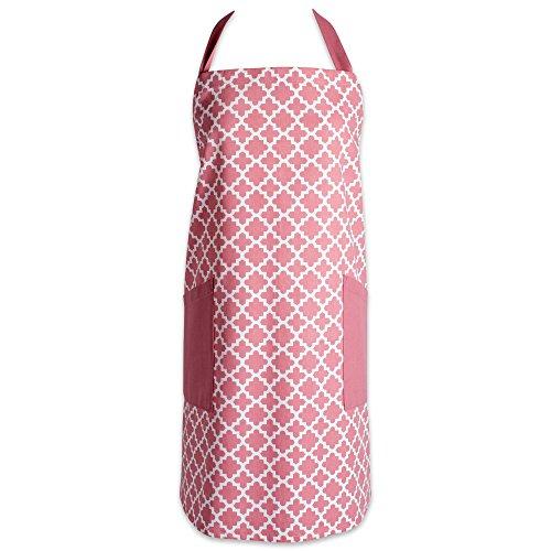 DII 100% Baumwolle Schürze Rose Pink Lattice Rose Lattice