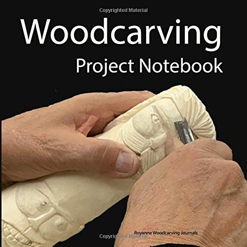 Woodcarving Project Notebook: Face Cover - A Journal for 15 Wood Carving Projects - Each Project has 7 Pages to Document Wood, Tools, Carving and Painting Techniques, Notes and Competition Entry Chip Carving Knives