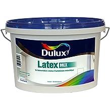 (9,99 / Liter) 2,5 Liter Dulux Latexfarbe alle RAL-Farben seidenglänzend innen (RAL 1002 sandgelb)