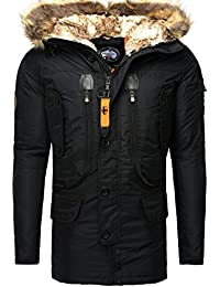 Geographical Norway - Parka hiver Geographical Norway Parka Collusion noir - Noir