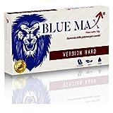 Blue Max® - HARD DA 160 MILLIGRAMMI - Alterazione Dei Livelli Di Testosterone - Booster Naturale Anche Per Giovani Per Risultati Eccellenti - 10 Pillole