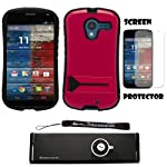 Protect and personalize your phone with this hybrid tough case that is specifically designed and personalized to fit your motorola moto x! case allows access to all ports, buttons, and camera's. Case also features a stand for better viewing when watc...