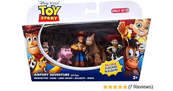 Toy Story Airport Adventure Gift Pack Prospector Hamm Hero