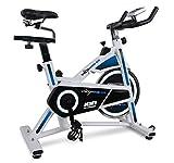 ION Fitness VELOPRO GS FI304 indoorbike indoorcycling heimtrainer - 16 kg Schwunggewicht - LCD-Monitor - Manuelles...