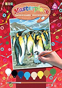 Mammut 8211522 - Painting by Numbers Box Set