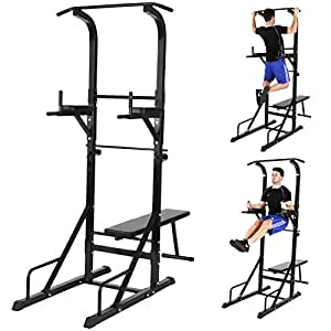 physionics appareil de musculation multifonction banc de musculation station dips barre. Black Bedroom Furniture Sets. Home Design Ideas