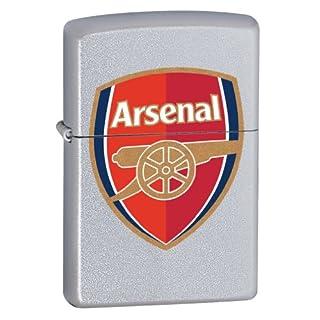Zippo 2.002.961 Feuerzeug FC Arsenal, Premier League, Satin Finish