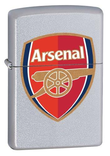 Zippo 2.002.961 Feuerzeug FC Arsenal, Premier League, Satin Finish -
