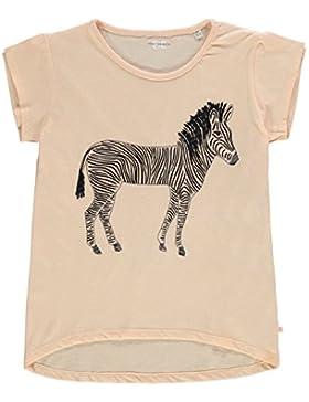 French Connection Ragazza T Shirt Zebra Manica Corta Girocollo Maglietta