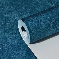 SunZhi Einfache Moderne Einfarbig Gewebt Wallpaper Deep Blue Rose Rot Pink  Blau Schwarz Grün Gelb Tapeten