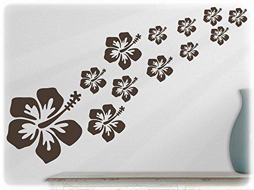 wandfabrik-sticker-mural-motif-hibiscus-16-belles-fleurs-marron-80