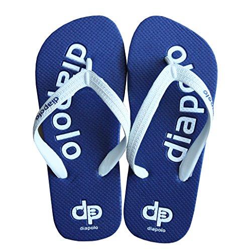 Diapolo DP dunkelblau Badeschuhe Flip-Flops Badelatschen Badeschlappen Sandale Zehentrenner (48)