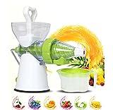Multifunktionale Manuelle Saftpresse, Mund, für high-Nutrition Obst- und Saft-, Drücken, Fruchtsaft,-,/, ideal für Obst, Gemüse und,