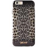 """Just Cavalli JCCI015 - Funda de TPU AntiShock para Apple iPhone 6 4.7"""", diseño de pitón-leopardo"""