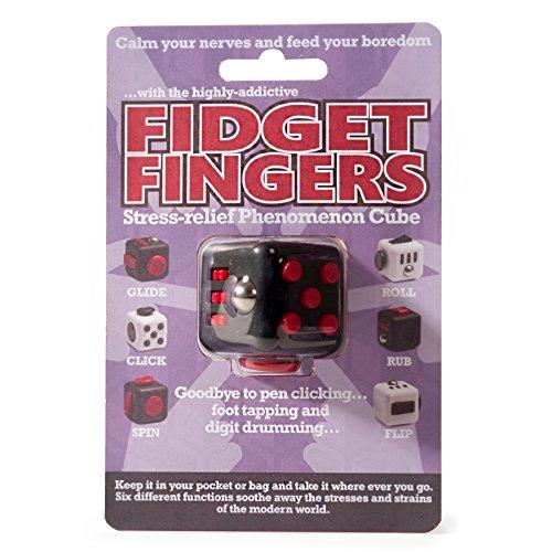 Fidget fingers stress-relief phänomen cube