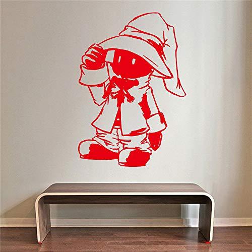 yaoxingfu Anime Charakter Cartoon Kind Raumdekoration Inspiration Wohnzimmer Vinyl Cartoon Wandtattoos Abnehmbare Art Decor Wandaufkleber ww-2 87x126 cm