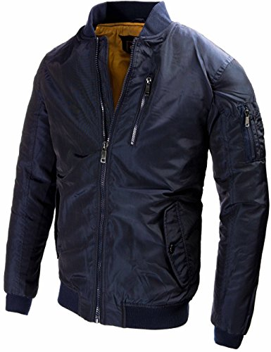 U.S. Air Force Pilotenjacke Fliegerjacke Bomberjacke Outdoor Collegejacke Winterjacke Old School Übergangsjacke Windbreaker 9895 M L XL XXL - 2