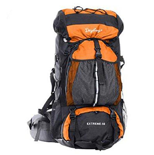 zaino trekking borse alpinismo esterno 60L zaino da viaggio escursionismo  Lesbico sacchetto di grande capacità Zaini