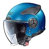 NOLAN CASCO N33 EVO CLASSIC  FLAT SAPPHIRE BLUE L