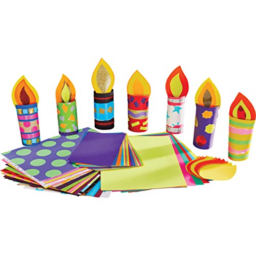 Tubey Candles Diwali Christmas Craft Activity (Pack of 30)