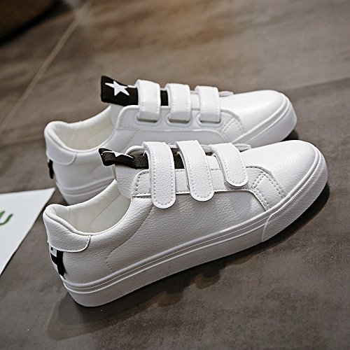 Wuyulunbi@ Scarpe a molla bianco scarpe scarpe Bianco e nero