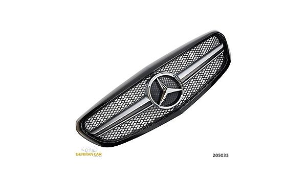 Germancarparts Gcp 205033 Grill Schwarz Auto