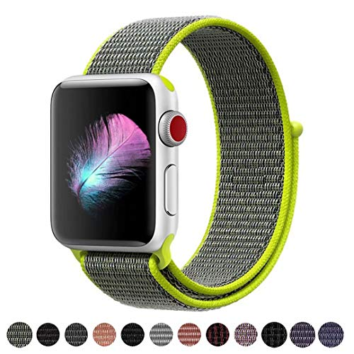 HILIMNY Für Apple Watch Armband 42MM, Ersatz für iwatch Armband Series 3, Series 2, Series 1(Flash, 42MM)