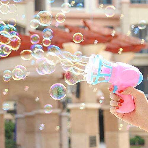 Bubble Machine Bubble Blaster für Partys, Hochzeiten, Indoor- und Outdoor-Aktivitäten, Sommerspielzeug, Outdoor-Spielzeug ()