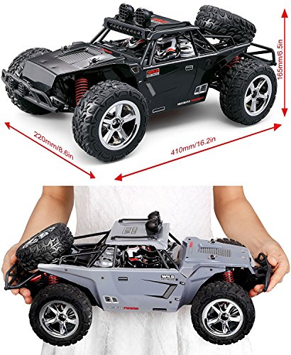 RC Buggy kaufen Buggy Bild 1: TOZO RC Car, C5032 High Speed 32MPH 4x4 Schnelle Rennwagen 1:12 RC Autos Skala RTR Racing 4WD Elektrische Power Buggy w / 2.4g Radio Fernbedienung Off Road lkw Powersport (Schwarz)*