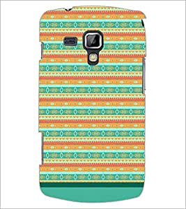 Printdhaba Tribal Pattern D-1733 Back Case Cover For Samsung Galaxy S Duos S7562