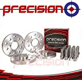 2 Pairs of Hubcentric Wheel Spacers with 20 Bolts for Genuine Wheels 15mm✓