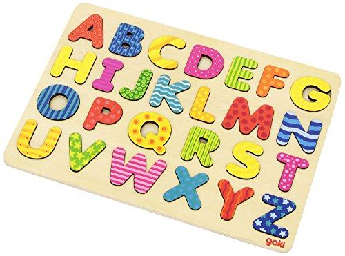 Goki 57672 Puzzle Alfabeto