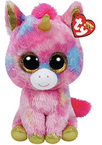 Beanie Boo Unicorn - Fantasia - Multicoloured - 23cm 9""