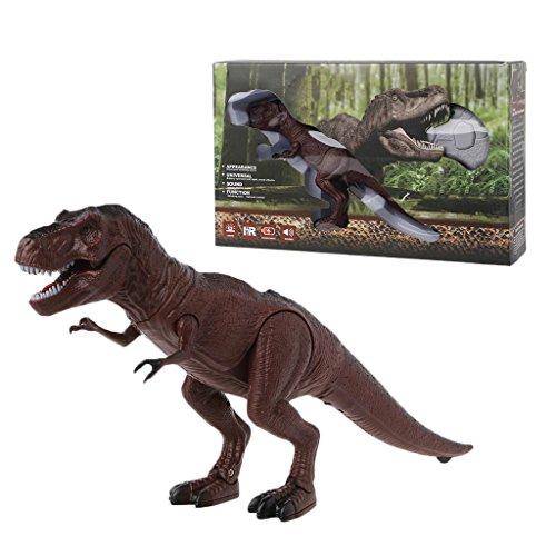 ZOOMY Fernbedienung Dinosaurier Spielzeug Stimme Flackernden Augen Bewegen Mund Wireless Pet 2#
