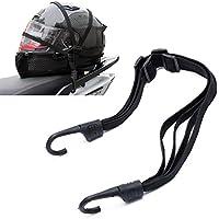 Cuerda elástica multiusos universal para motos bicicletas Scooter portaequipajes casco carga equipaje ajustable con ganchos