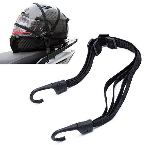 Cuerda elástica multiusos universal para motos bicicletas Scooter portaequipajes casco carga equipaje...